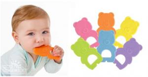 Полезная игрушка «на первый зуб»!