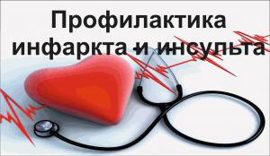 Инфаркт и инсульт: какие способы профилактики?