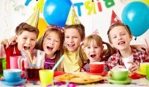 Как отметить детский день рождение
