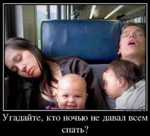 Плохой сон ребенка...