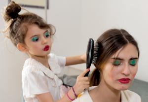 Я в детстве участвовала в конкурсах красоты и хочу, чтобы моя дочь тоже участвовала.