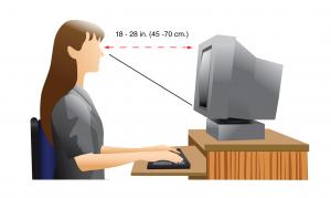 Как не потерять зрение, сидя за монитором компьютера?