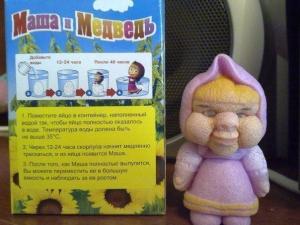 Растущая игрушка или Маша в скарлупе