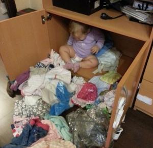 Ребенок и беспорядок