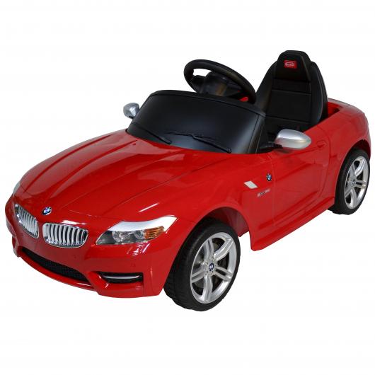 красный детский электромобиль