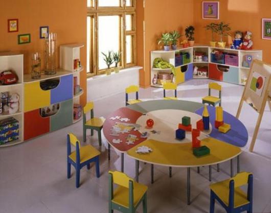детская комната в частном детском саду