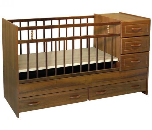 универсальная детская кроватка с комодом