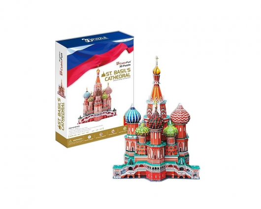 объемные пазлы - кремль