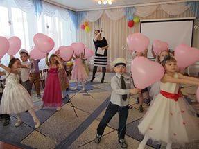 детский праздник в детском саде