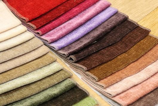 разноцветная мебельная ткань