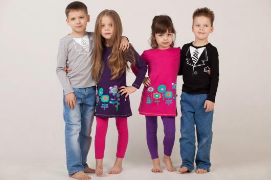 детская одежда для мальчиков и девочек
