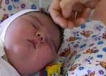 В Киеве родилась девочка весом 5,2кг