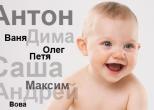 Самое популярное имя для новорожденного