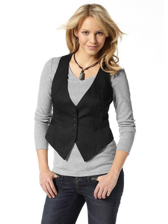 Женские жилеты — ключевая деталь модных неординарных образов!