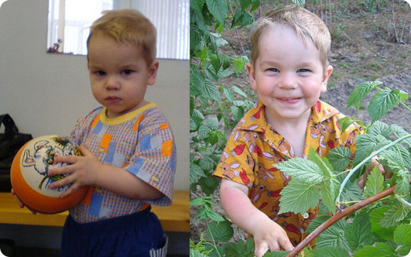Фото детей до усыновления и после