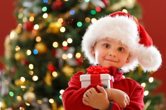 Детские новогодние подарки