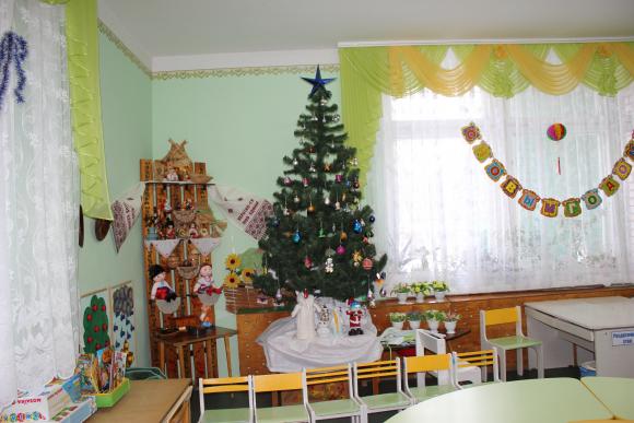 Украшение груп детсада на новый год