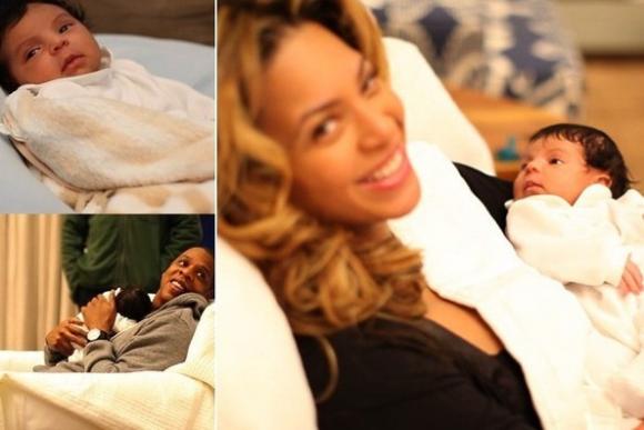 Знаменитости со своими новорожденными детьми